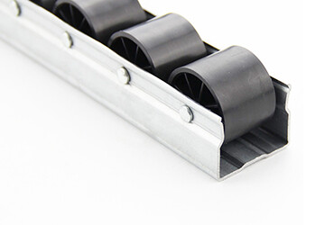New type ES series ESD iron roller track is on line